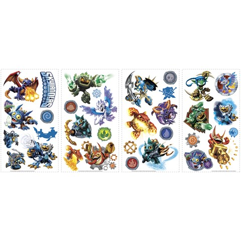 Skylanders Removable Wall Decals