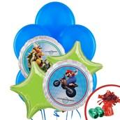 Mario Kart Wii Balloon Bouquet