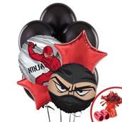 Ninja Warrior Party Balloon Bouquet