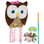 Owl Pink Pinata Kit