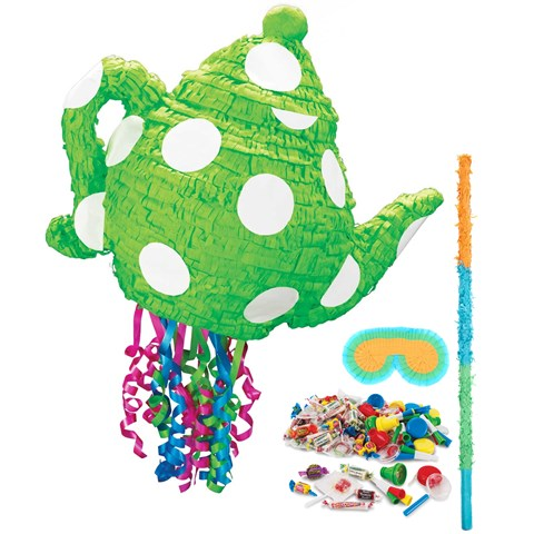 Green Teapot Pinata Kit