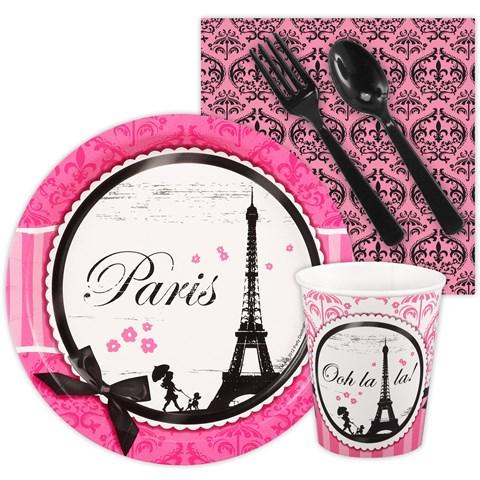 Paris Damask Playtime Snack Pack
