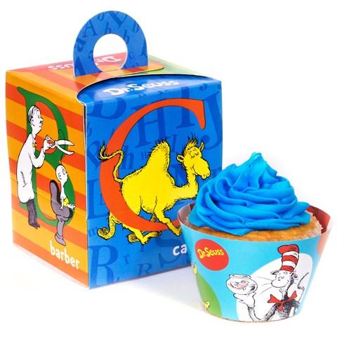 Dr. Seuss ABC Cupcake Wrapper & Box Kit