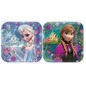 Disney Frozen Party Square Dessert Plates (8)