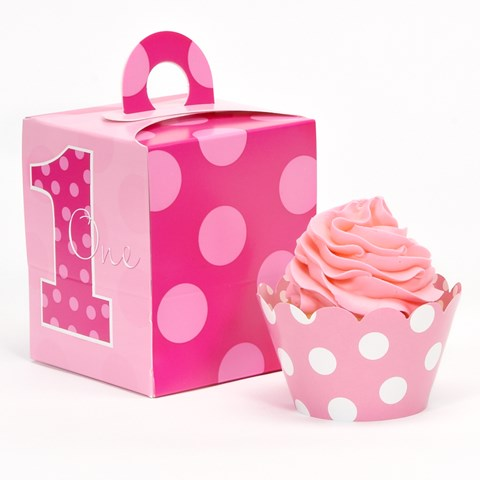 Everything One Girl Cupcake Wrapper & Box Kit