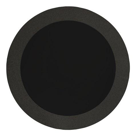 """Black Glitz 14"""" Round Placemats (8)"""