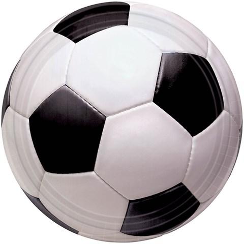 Soccer Fan Dessert Plates (8)
