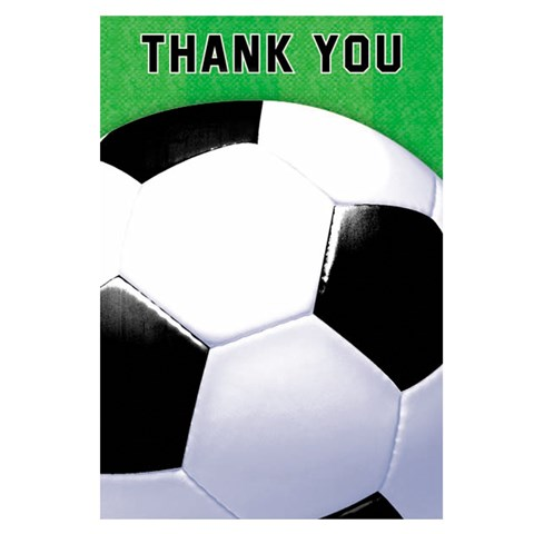 Soccer Fan Thank-You Notes (8)