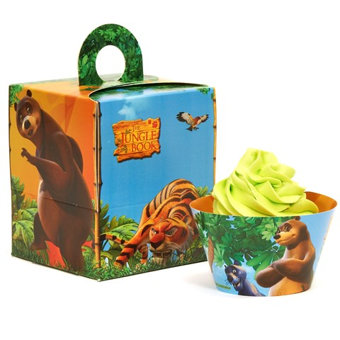 The Jungle Book Cupcake Wrapper Combo Kit