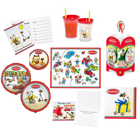 Richard Scarry's Busytown Value Pack