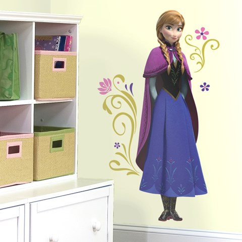 Disney Frozen Anna Peel and Stick Giant Wall Decals