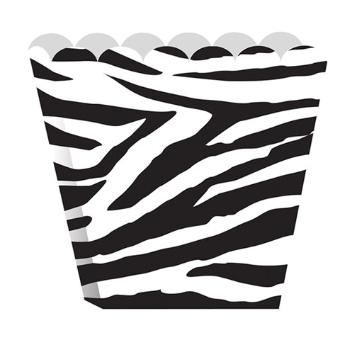 Zebra EmptyTreat Boxes (8)