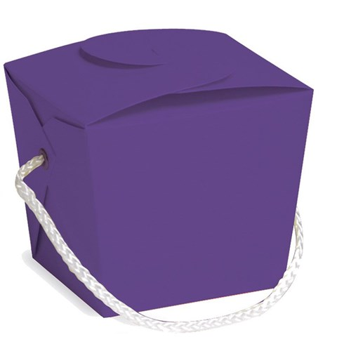 Purple Pint Size Empty Favor Pail