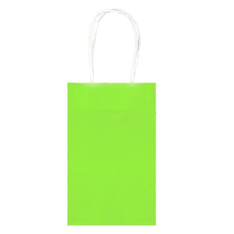 Party Bags - Lime (10)