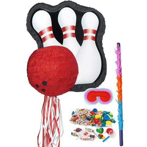 Bowling Pinata Kit