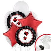 Ladybug Fancy Balloon Bouquet