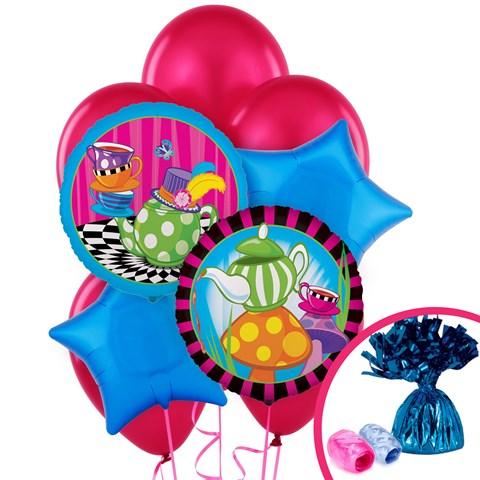 Topsy Turvy Tea Party Balloon Bouquet