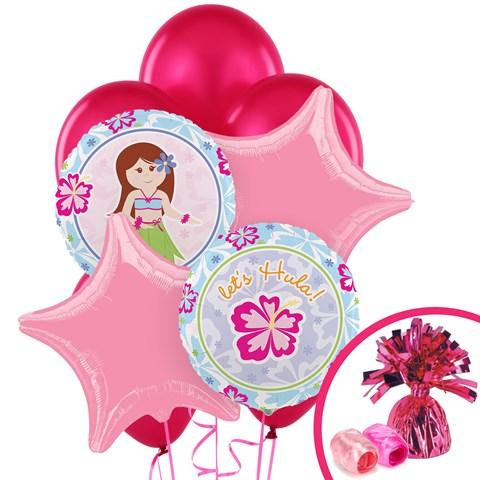 Hawaiian Girl Balloon Bouquet
