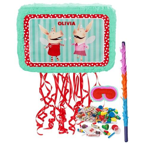 Olivia Pull-String Pinata Kit