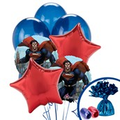 Superman: Man of Steel Balloon Bouquet