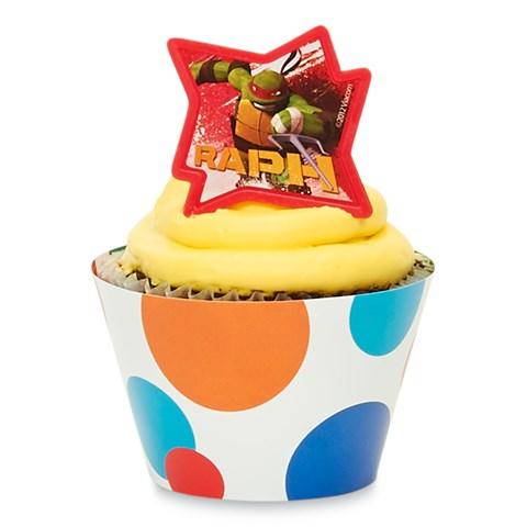 Teenage Mutant Ninja Turtles Cupcake Wrapper Combo Kit