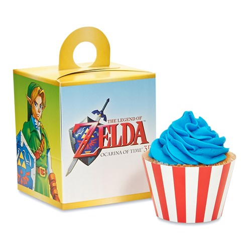The Legend of Zelda Cupcake Wrapper & Box Kit