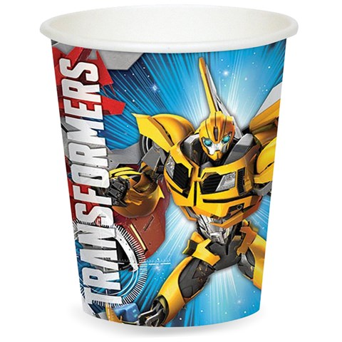 Transformers 9 oz. Cups (8)
