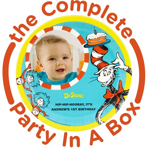 Dr. Seuss 1st Birthday Personalized Party in a Box