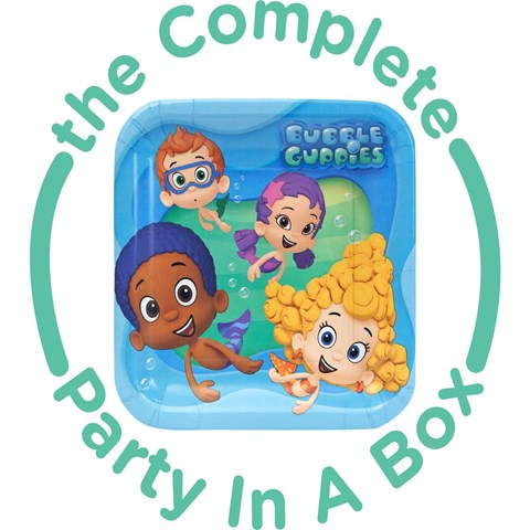 Bubble Guppies 1st Birthday Party in a Box