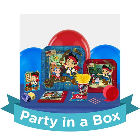 Disney Jake and the Never Land Pirates Party in a Box