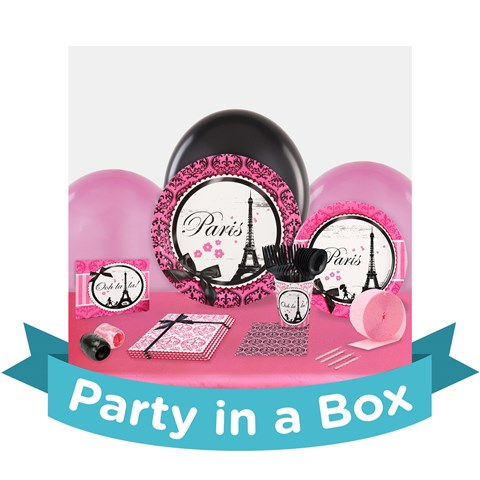 Paris Damask Party in a Box