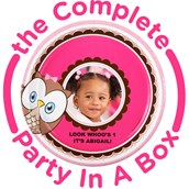 Look Whoo's 1 Personalized Party in a Box