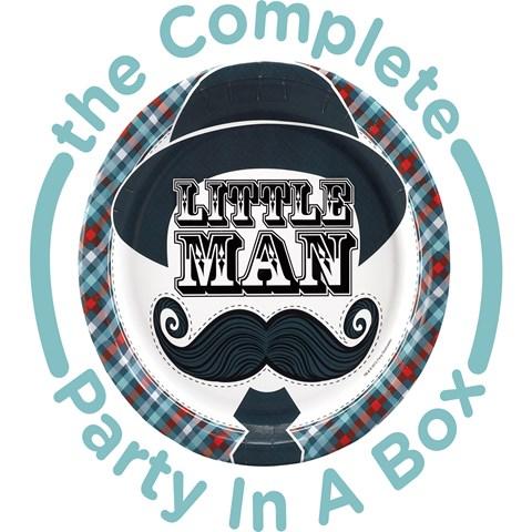 Little Man Mustache Party in a Box