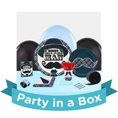 Little Man Mustache 1st Birthday Party in a Box