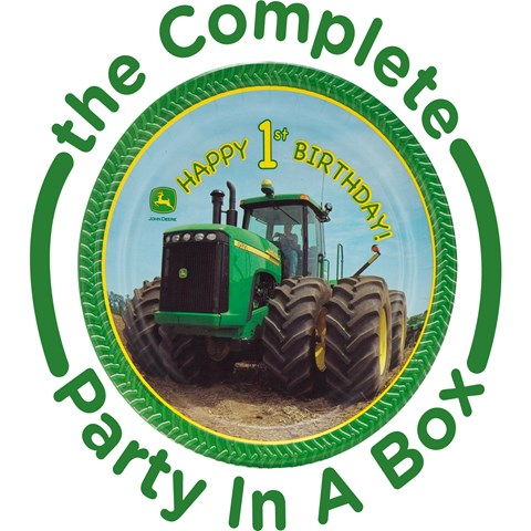 John Deere 1st Birthday Party in a Box