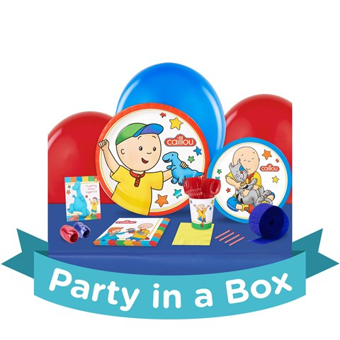 Caillou Party in a Box