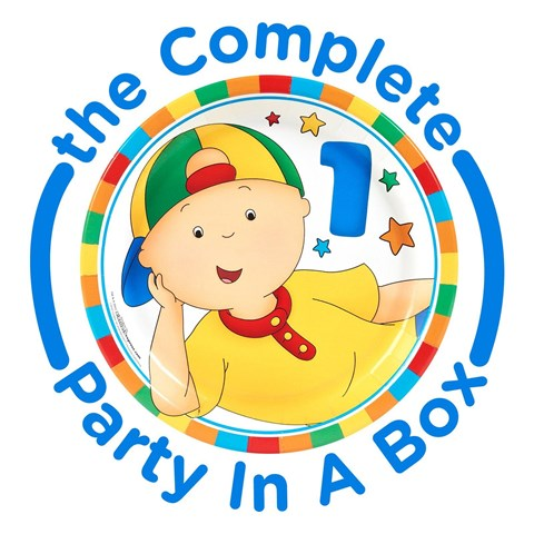 Caillou 1st Birthday Party in a Box