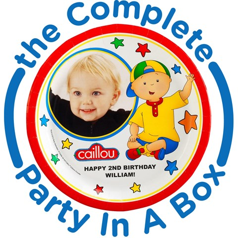 Caillou Personalized Party in a Box