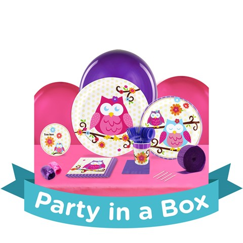 Owl Blossom Party in a Box