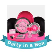 Diva Zebra Print Party in a Box