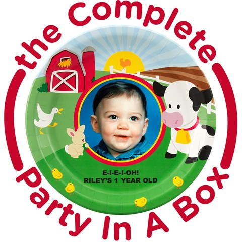 Barnyard Personalized Party in a Box