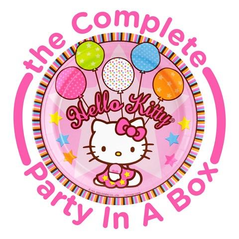 Hello Kitty Balloon Dreams Party in a Box