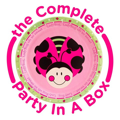 Ladybug Oh So Sweet 1st Birthday Party in a Box