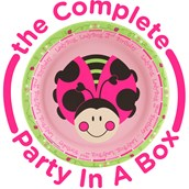 Ladybug Oh So Sweet 2nd Birthday Party in a Box