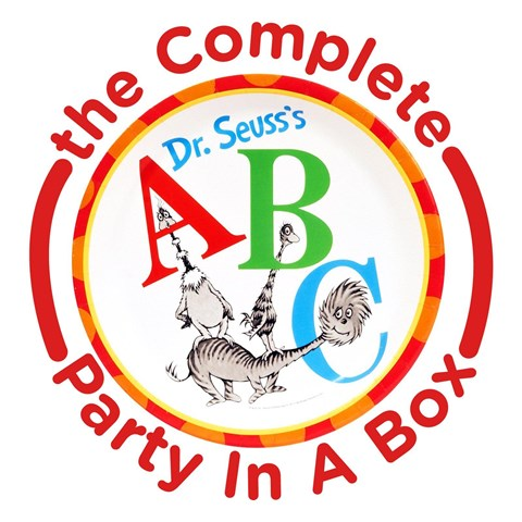 Dr. Seuss ABC 1st Birthday Party in a Box