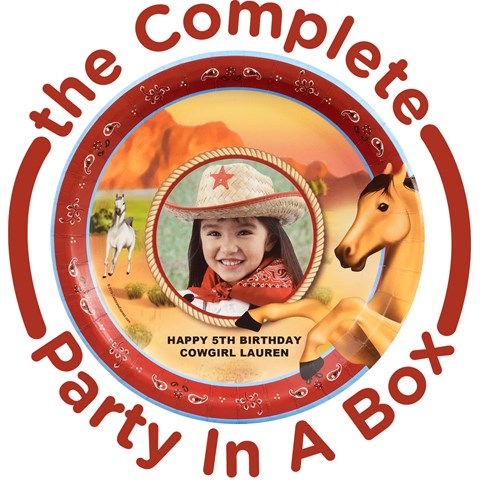 Horse Power Personalized Party in a Box