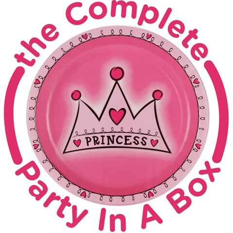 Birthday Princess 1st Birthday Party in a Box