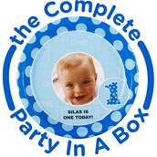 Everything One Boy Personalized Party in a Box