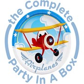 Airplane Adventure 1st Birthday Party in a Box