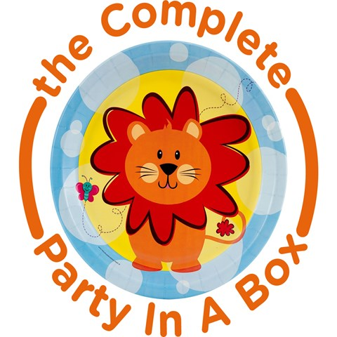 Safari Friends 1st Birthday Party in a Box